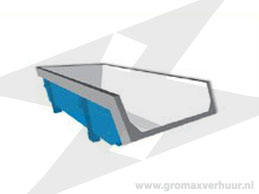 6 m³ Container dakafval