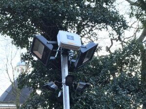 Bouwlampset 150w LED t.b.v. Cameramast