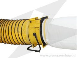 Bouwstofafzuigset ø 450 mm 4500 m³ p/uur (220v)