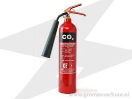 Brandblusser 5 kg (Co²)