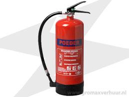 Brandblusser 6 kg (Poeder)