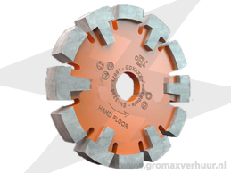 Diamantfrees ø 120 breedte 16 mm (Oranje)