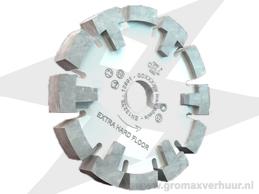 Diamantfrees ø 120 breedte 16 mm (Wit)