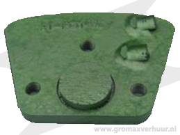 Diamantsegment AT PCM-9L Groen