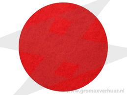 Dikke pad ø 406 mm rood (Fijn grof)
