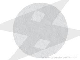 Dunne pad ø 406 mm wit (Zeer fijn)