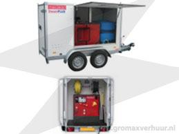 Hogedrukreiniger aanhanger Steamplus 350 bar (Diesel)