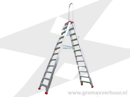 Reformladder 3 delig 14 sports max wh 10,1 mtr