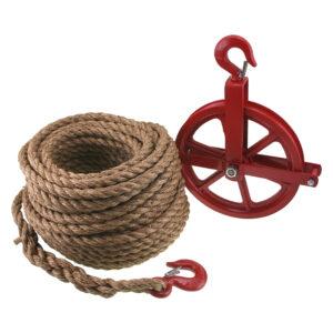 Verhuiskatrol (Touw met wiel)