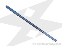 Verlengstuk t.b.v. hand grondboor 1000 mm