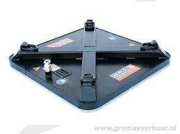 Zuignap 750x750 mm hor.1500 kg ver. 750 kg